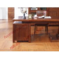 Buy cheap Solid Wood Antique Design Furniture Desk with Drawers in Home Study Room use from wholesalers