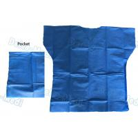 Buy cheap Over Lock Sewing Disposable Scrub Suits , Custom Size Blue Scrub Suit from wholesalers