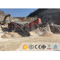 Buy cheap How much is a mobile crushing station for processing zeolite? from wholesalers