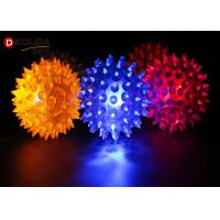 Buy cheap Rubbery Squeezable Glow In The Dark Dog Ball Bouncy Led Ball Approximately 2.5 Inches from wholesalers
