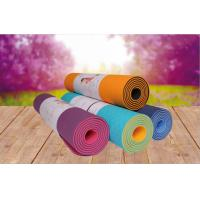 Buy cheap colorful yoga mat tpe material eco friendly yoga mat 6-8 mm for new starter from wholesalers