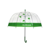 Buy cheap BSCI 23 Inch Transparent POE Transparent Rain Umbrella from wholesalers