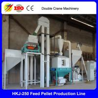 Buy cheap CE approved top quality poultry feed pellet production line/small feed pellet line from wholesalers