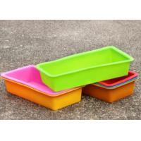 Buy cheap Homemade Custom Flexible Bread Silicone Bakeware , Silicone Loaf Soap Molds from wholesalers