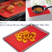 Buy cheap FDA food grade Microwave Oven reusable custom silicone baking mat whatsapp: +8615992856971 from wholesalers