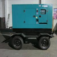 Buy cheap 6  Cylinders Mobile Diesel Generator Water Cooling Low Fuel Consumption product