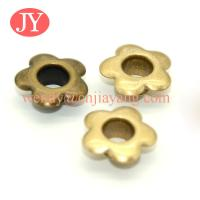 Buy cheap jiayang wholesale price Glossy gold precision banner iron eyelets and grommets from wholesalers