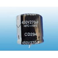 Buy cheap CD294 Series 105C Standard Snap In Aluminum Electrolytic Capacitor from wholesalers