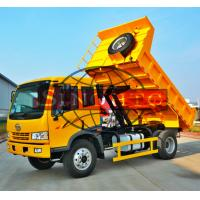 Buy cheap 8 - 10 Tons Utility Dump Truck For City Multipurpose Left / Right Hand Drive Optional from wholesalers