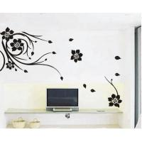 Buy cheap Novelty Designer Reusable Wall Flower Stickers HB-111 from wholesalers