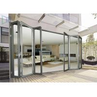 Buy cheap Economic Aluminium Bi Fold Doors , Waterproof Customized Commercial Folding Doors from wholesalers