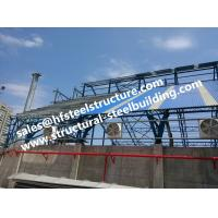 Buy cheap Fabricated Industrial Steel Buildings Structures Stairs Roofing from wholesalers