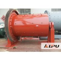 Buy cheap Manganese Steel / Ceramic / Rubber Ball Mill Low Energy Consumption from wholesalers