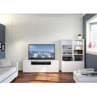 Buy cheap Melamine / Veneer Wall Mounted Entertainment Center Wall Unit from wholesalers