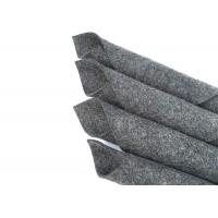 Quality Heat Pressed Industrial Wool Felt Dust Sealing Grey Color For Roller Bearings for sale