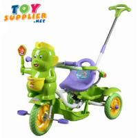 Buy cheap Kid's Pedal Tricycle With Push Hand Bar, Music from wholesalers