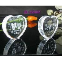 Buy cheap Crystal Heart Shape Paperweight from wholesalers