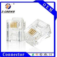 Buy cheap Cat3 Cat5 Cat5e Cat6 Unshielded/Shielded Connector RJ45 And RJ11 from wholesalers