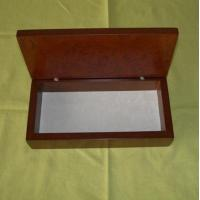 Buy cheap Wooden gift box, wood Pen box, gloss finish, EVA pallet inside is available from wholesalers