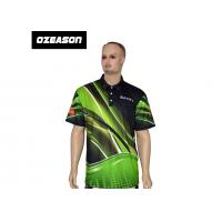 Buy cheap Polyester Spandex High Quality All Over Printed Sports Polo T-Shirt from wholesalers