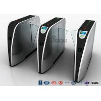 Buy cheap Standard Electric Access Control Turnstile Entry Systems Flap Barrier Gate SS High Speed from wholesalers