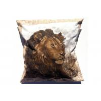 "Buy cheap Floor Lion Cushion Cover , Personalized Decorative Pillow 18"" Customized from Wholesalers"