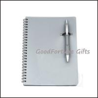 Buy cheap Sell pp notebook memo pads with pen printed logo from wholesalers