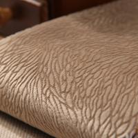 Buy cheap Burnout Composite Fabric Grey Textured Chenille Upholstery Fabric from wholesalers