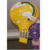Buy cheap hot air balloon paper light sky lanterns baptism decoration red lantern cell balls chinese party white party decorations from wholesalers