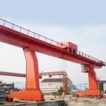 Buy cheap Outdoor Plant 20T L Shape Box Hook Hydraulic Gantry Crane from wholesalers