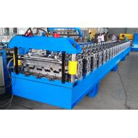 Buy cheap Metal Roof Deck Panel Roll Forming Machine from wholesalers