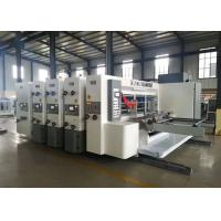 Buy cheap Module Designed Flexo Corrugated Machine / Flexo Printer Slotter Die Cutter from wholesalers