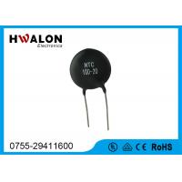 Buy cheap Black High Power Inrush Current Limited Thermistor 5D20 10D11 for Transformer product