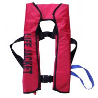 Buy cheap Solas Inflatable Life Vest Life Jackets with EC CCS certification inflatable life vest work life jacket from wholesalers