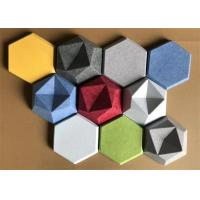 Buy cheap Commercial Noisestop Acoustic Wall Panel , Sound Absorbing Wall Decor 34 Colors from wholesalers