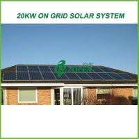 Buy cheap Eco-friendly On Grid Solar Energy Products 20kw For Grid Tied Solar System from wholesalers
