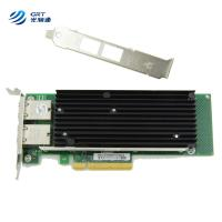 Buy cheap Intel X540 Dual-Port Copper RJ45 10G Optical Network Card CE approved from wholesalers