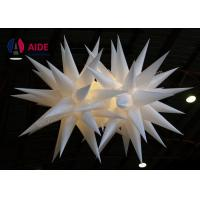 Buy cheap Blower Inside Air Star Inflatable Lighting Decoration For Big Event Party Club from wholesalers