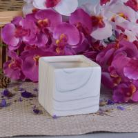 Buy cheap Popular Hydrographics Transfer Printing Square Ceramic Candle Holders from wholesalers