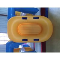 Buy cheap Yellow Inflatable Lifeboat Enhanced Strong PVC Lightweight Inflatable Boat from wholesalers
