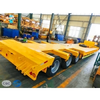 Buy cheap Mining Machinery 60000kg  Fuwa Heavy Duty Low Bed Trailers from wholesalers