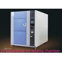 Buy cheap 3 Zones High Low Ambient Temp Thermal Shock Test Chamber  For Metal / Plastic from wholesalers