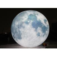 Buy cheap Giant Lighting Inflatable Moon Globe 6 M Dia PLL - 145 Long Lifespan from wholesalers