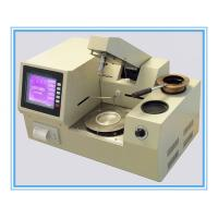 Buy cheap ASTM D92 Automatic Cleveland Open Cup Flash Point Tester from wholesalers