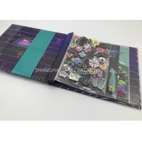 Buy cheap Collage Blank Scrapbook Photo Album For Couples Girls Boys Delux 8x8 Pages Handmade from wholesalers