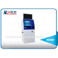 Buy cheap Windows 8 / 10 OS Coin Counting Kiosk Multi Touch Screen Wifi / 3G / Bluetooth Connection from wholesalers