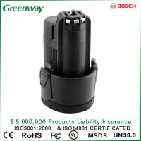 Buy cheap No Memory Effect Replacement Lithium-ion Battery for BOSCH BAT411,BAT411A,BAT412A , 2607336013 2607336014 from wholesalers
