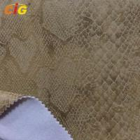 Buy cheap Embossed Suede Sofa Upholstery Fabric For Chairs / Cushions / Car Seat product