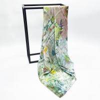 Buy cheap Custom Fashion 100 Women' Silk Digital Square Scarf Luxury from wholesalers