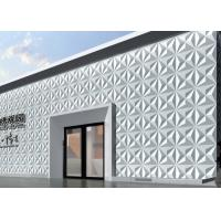 Quality Outside Fake Stone Veneer 3D Wall Covering Carved Malm 3d Wall Tiles for Hotel , for sale